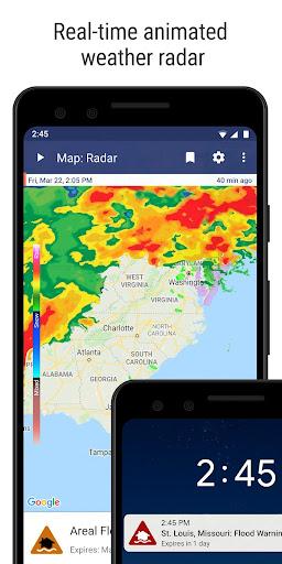 NOAA Weather Radar & Alerts screenshot 1