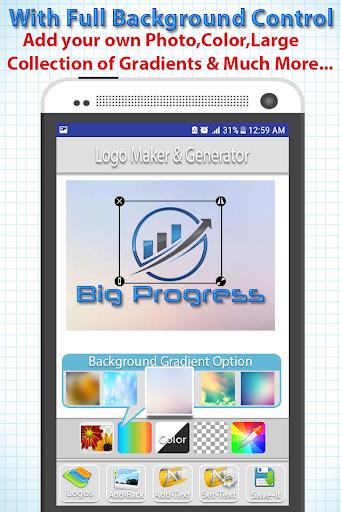 Logo Maker - Logo Creator, Generator & Designer 1.0.1 screenshots 2