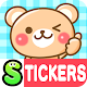 Honorific Bear Stickers Free apk