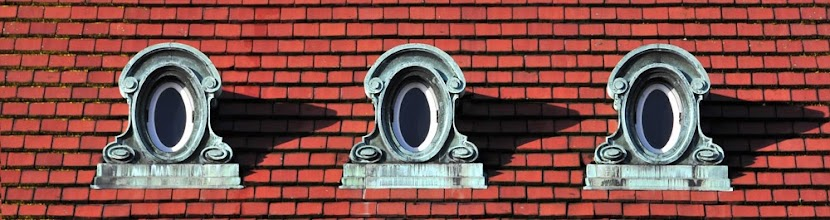 Photo: Hear No Evil, Speak No Evil, See No Evil  I'm just glad I didn't see Damien's face in one of these windows.  Something a little different for #wideWednesdayPanorama curated by +Charles Lupica. May not be what you intended Charles but I thought it was fun.