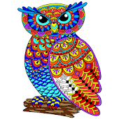 Owl Color By Number - Birds Coloring Book Pages Android APK Download Free By Coloring By Number - Pixel Art Games : Next Tech