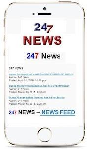 247 News Alternative News screenshot 0