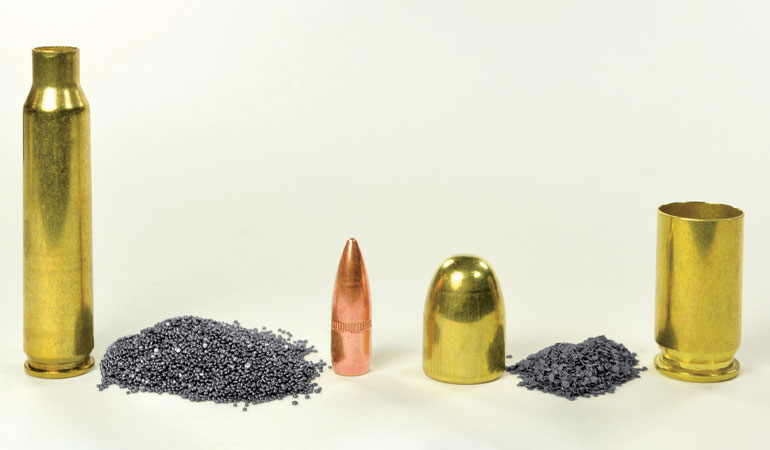 How many grains of gunpowder in a pound