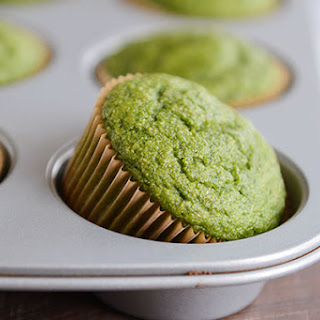 Whole Grain Green Hulk Muffins.