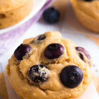 The Ultimate Healthy Blueberry Muffins.