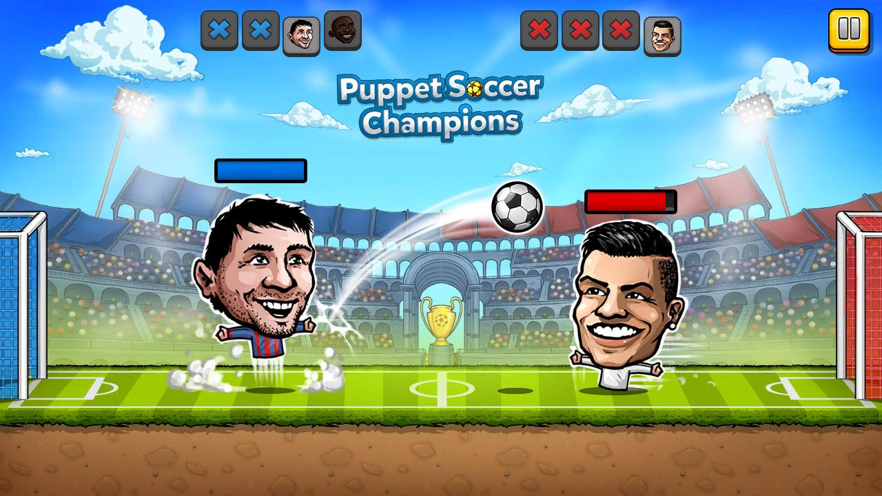 ⚽ Puppet Soccer Champions – Fighters League ❤️🏆- screenshot