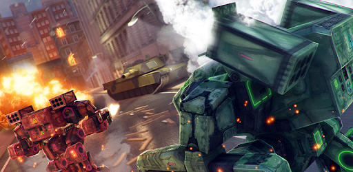 Play the second part of Robots Tanks War! The best war game ever!