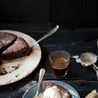 Flourless Bailey's Chocolate Cake