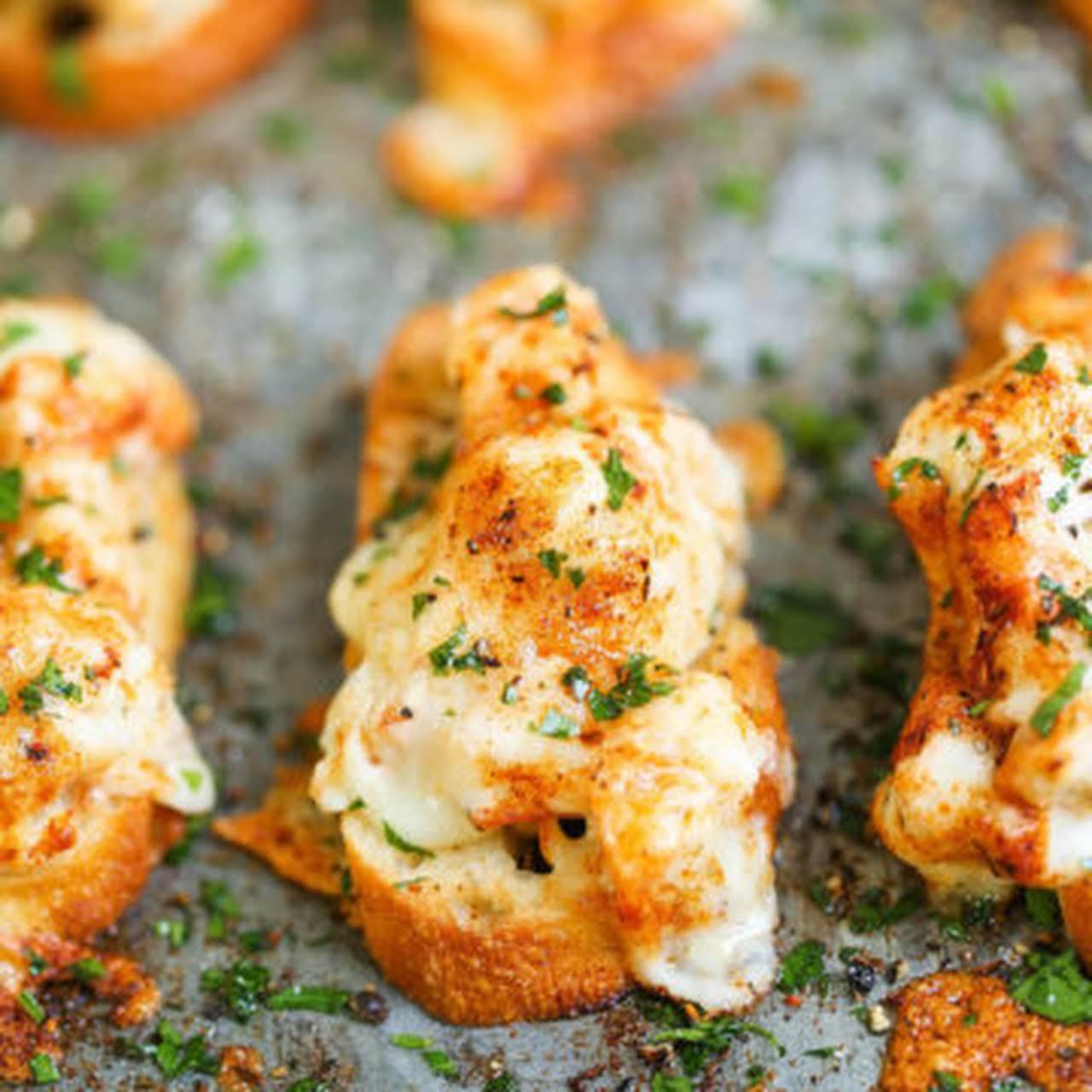Cajun Shrimp Toast