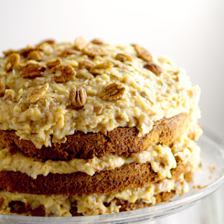 Traditional German Chocolate Cake.