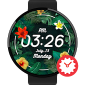 Tropical watchface by Kallos
