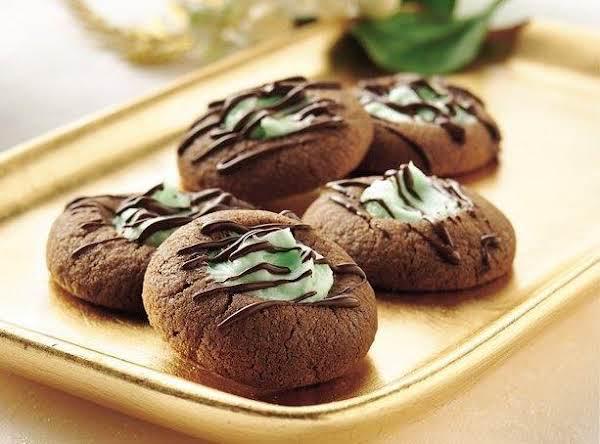My Best...'jr.mint' Thumbprint Cookies