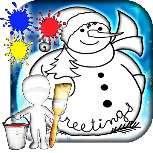 Holiday Coloring Book 遊戲 App LOGO-硬是要APP