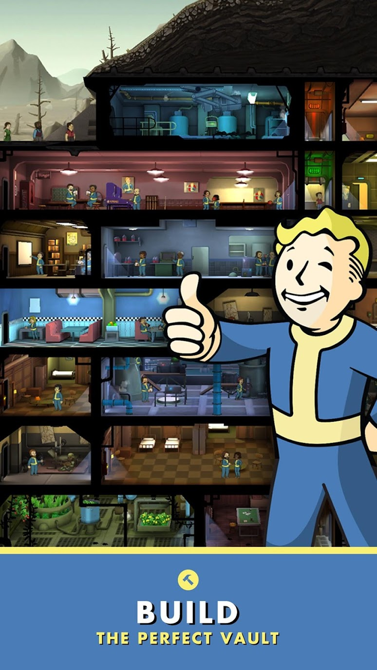 Fallout Shelter (MOD, Unlimited Money) 2