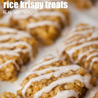 Pumpkin Spic Rice Krispy Treats