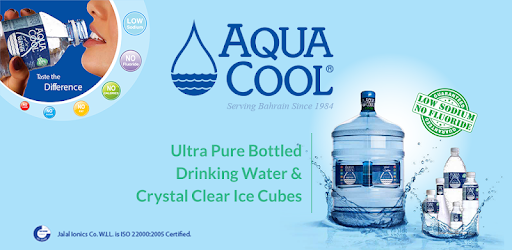Aqua Cool 5-gallon bottled drinking water supplier in the Kingdom of Bahrain