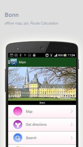 Bonn Map offline