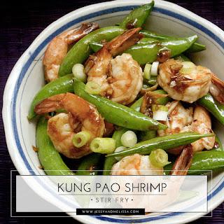 Kung Pao Shrimp Stir Fry - Weight Watchers.