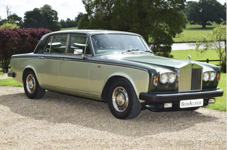 Rolls-Royce Silver Shadow II Hire Reading