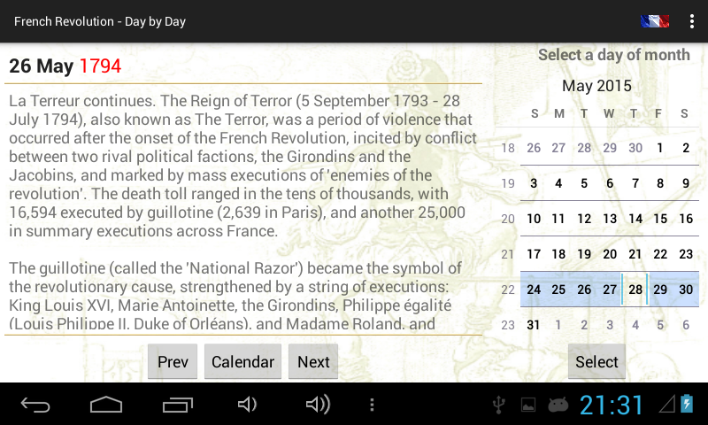 French Revolution - Day by Day- screenshot