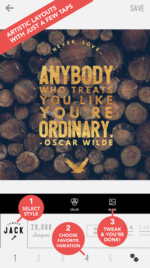 Word Swag - Cool fonts, quotes- screenshot
