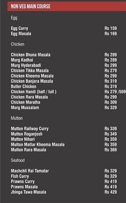 The 1st Floor menu 3
