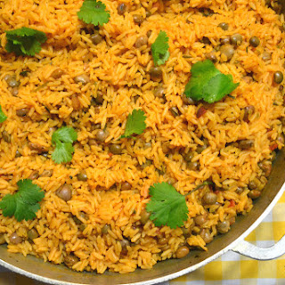 Arroz Con Gandules (Puerto Rican Rice with Pigeon Peas) Recipe