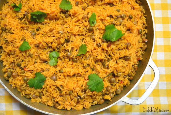 Arroz Con Gandules (Puerto Rican Rice with Pigeon Peas) Recipe