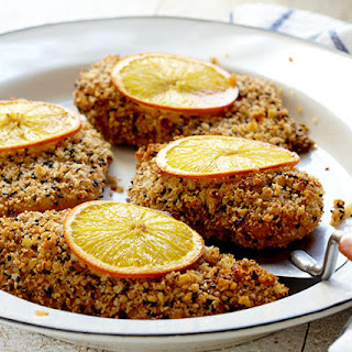 Crispy Orange-Sesame Chicken Breasts