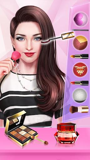 ud83dudc84ud83dudcf7Fashion Cover Girl - Makeup star  screenshots 9