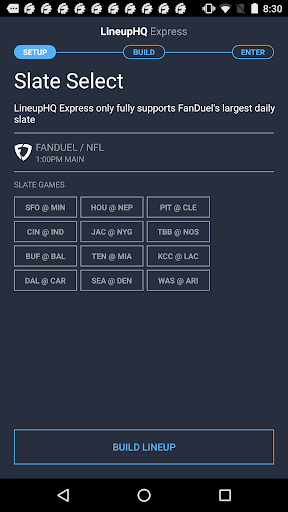 lineuphq: fanduel lineups screenshot 3