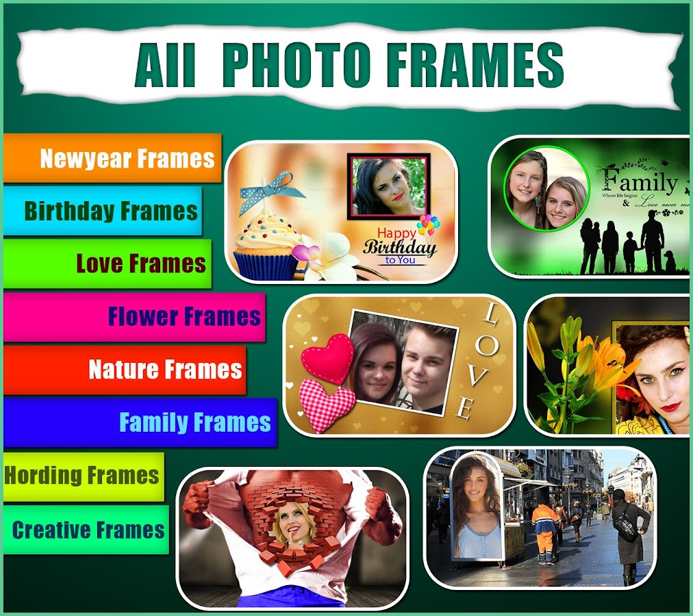 all photo frames android apps on google play