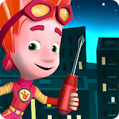 Fiksiki Town Games Free & Preschool Learning Games
