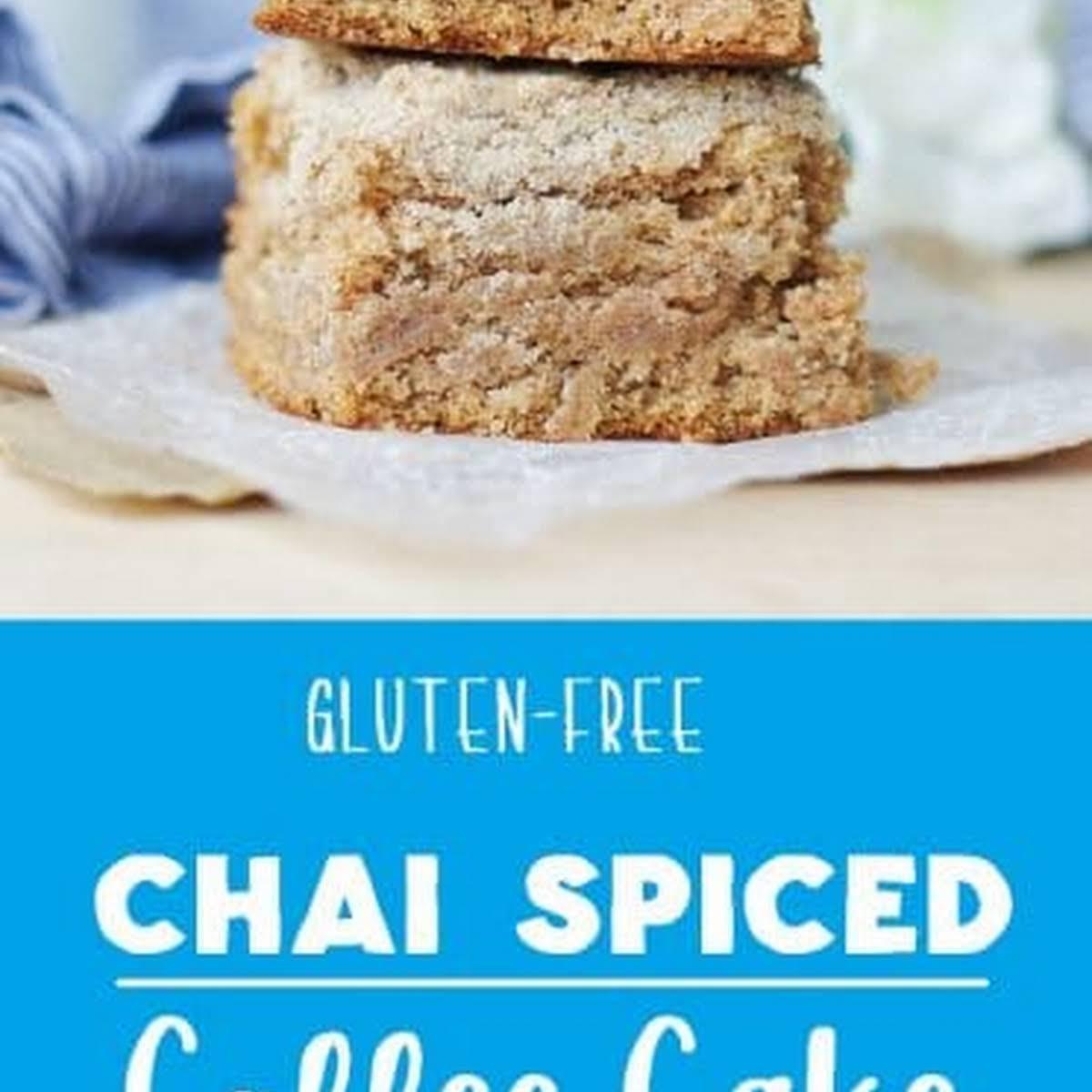 Gluten Free Chai Coffee Cake