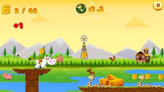 Farm Cow Run - náhled