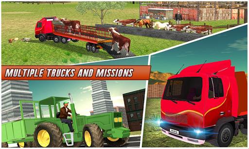 Farm Animal Transport Truck 2.5 screenshots 2