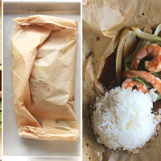 2. 5-Ingredient Sweet Soy Shrimp in Parchment Paper