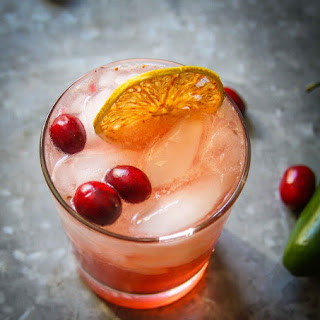Spicy Ginger Cran-cherry Cocktail.