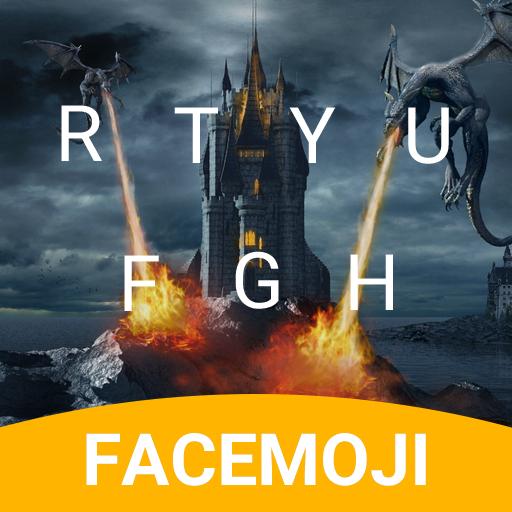Dragon Castle Emoji Keyboard Theme for GOT 7