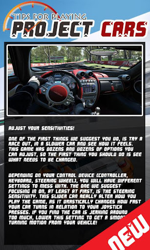 Tips for Playing Project CARS