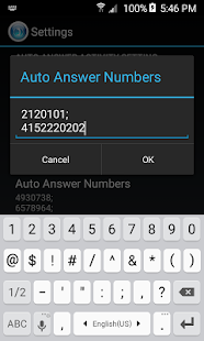 HandsFree Answer (Auto Answer) Screenshot