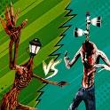 Light Head vs Siren Head Game-Haunted House Escape icon