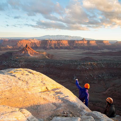 utah desert climbing