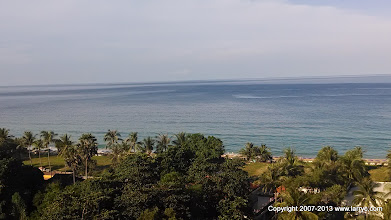 Photo: The view from our room, Karon Beach, Phuket.