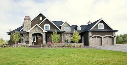 Photo: Private Residence - Springbank, Alberta Urbano Design & Development