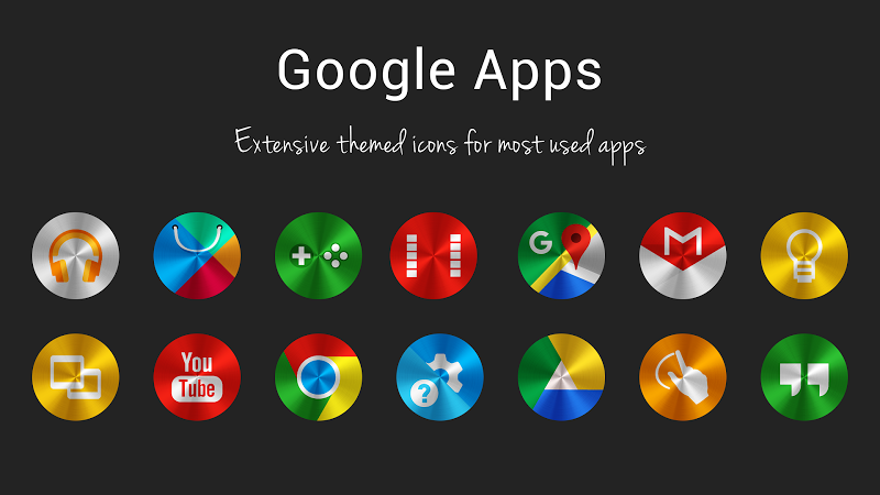 Steelicons - Icon Pack Screenshot 7
