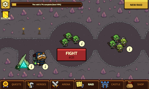 Raid Heroes: Total War apkpoly screenshots 4