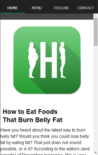 Quick Healthy Food Burn Fat