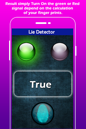 Lie Detector Simulator for PC