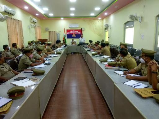 पुलिस लाइन बाराबंकी में गैंगस्टर से सम्बन्धित कार्यशाला का किया गया आयोजन